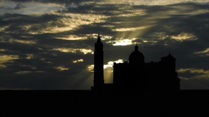 Malta Gozo Ta  Pinu sun passing