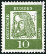 GERMANY - 1961: shows Albrecht Durer (1471-1528)
