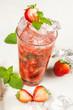 drink, strawberry smash