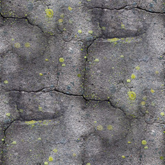 seamless texture of old stone wall with a crack wallpaper