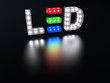 canvas print picture - LED technology sign