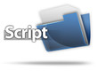 "3D Style Folder Icon ""Script"""
