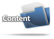 "3D Style Folder Icon ""Content"""