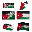 Jordan flag collage