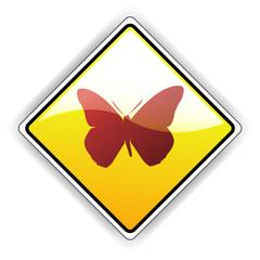 Señal mariposa