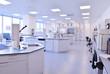 Leinwanddruck Bild - scientists working at the laboratory