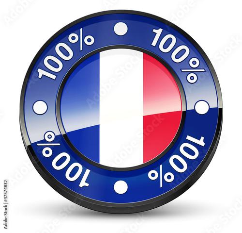 100%_Français_Icône