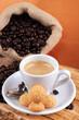 Caffè espresso e pasticcini
