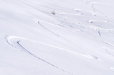 Fototapete Alps - Hinterland - Wintersport