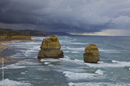 Storm on the Great Ocean Road