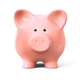 Piggy bank - front view