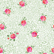roses over animal light seamless background