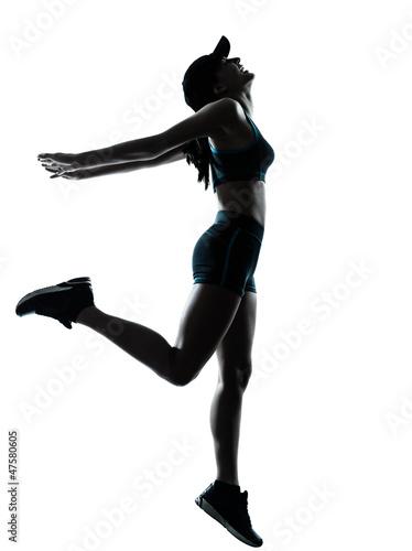 woman runner jogger