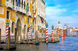 Beautiful street,Grand Canal in Venice, Italy