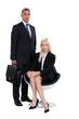 Couple of executives