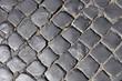 Texture of cobblestone.
