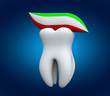 Tooth and tooth paste