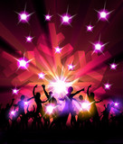 New Year Party Design Illustration