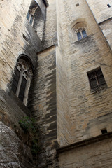 Papal palace in Avignon