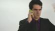 hablando telefono movil joven