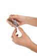 Tagliarsi unghie