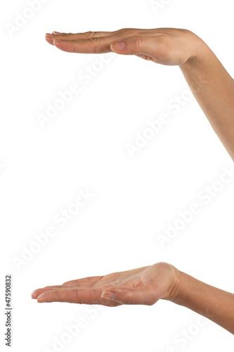 Misura con le mani