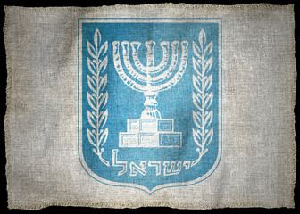 ISRAEL ARMS NATIONAL FLAG