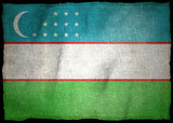 OUZBEKISTAN NATIONAL FLAG