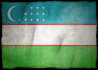 OUZBEKISTAN NATIONAL FLAG