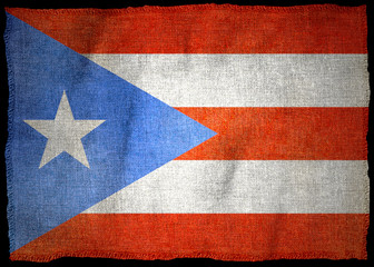 PUERTO-RICO NATIONAL FLAG