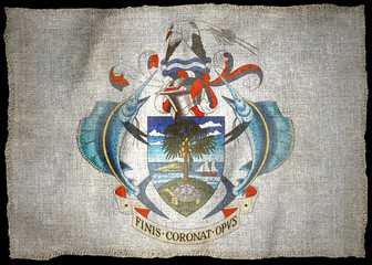 SEYCHELLES ARMS NATIONAL FLAG