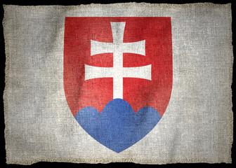 ARMS OF SLOVAKIA NATIONAL FLAG