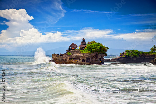 Foto op Plexiglas Indonesië The Tanah Lot Temple, the most important indu temple of Bali