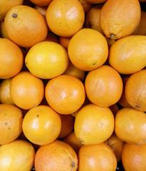 Mandarine oranges background