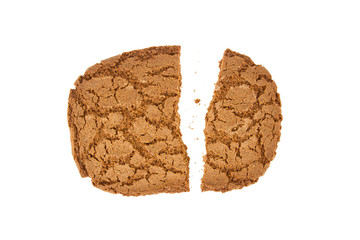 Broken speculaas biscuit, speciality from Holland