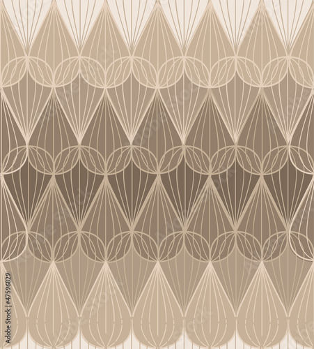 abstract geometric pattern in the same color