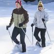 Wanderung im Neuschnee