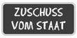 CB-Sticker TF eckig ZUSCHUSS VOM STAAT