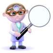Doctor magnifies the problem