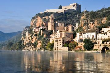 Miravet, Mediterranean town, Tarragona. (Spain)
