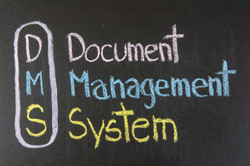 DMS acronym Document Management System