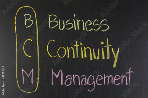 BCM acronym Business Continuity Management