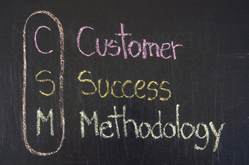 CSM acronym Customer Success Methodology