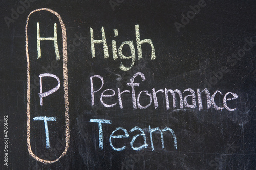 HPT acronym High Performance Team