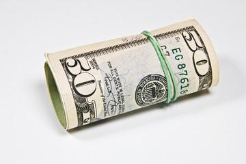 50 dolarów amerykańskich
