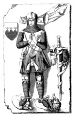 Beautiful Knight - Chevalier - Ritter - Middle-Ages