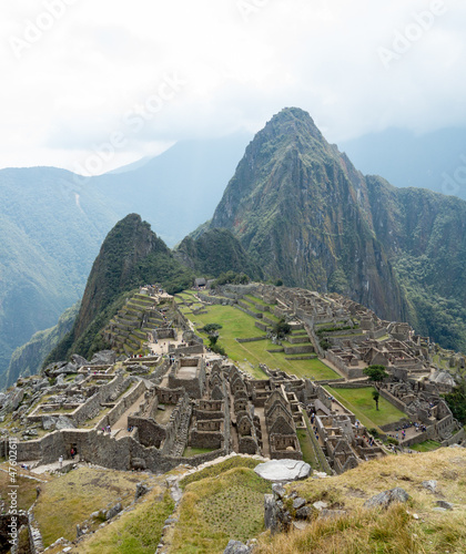 Machu Picchu in the Cusco region of Peru