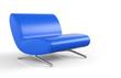 Big Blue Chair