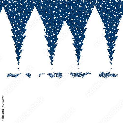 Background. Winter Landscape