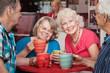 Smiling Senior Ladies